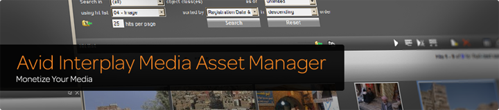 Interplay Media Asset Manager